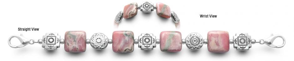 Designer Bead Medical ID Bracelets Pinkster 0799