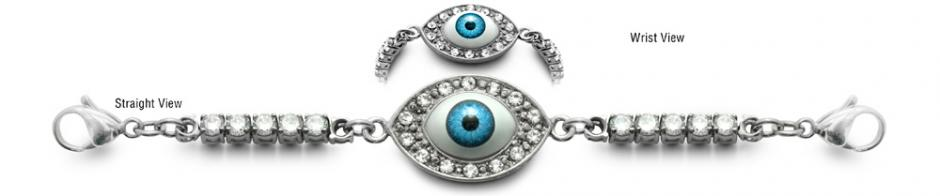 Diamond Bead Medical ID Bracelets Blink 0820