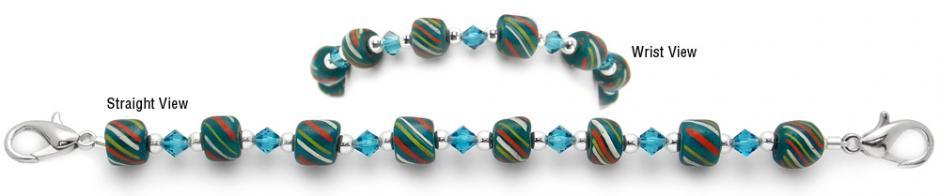 Designer Bead Medical Bracelets Ethiopian Dream 0821