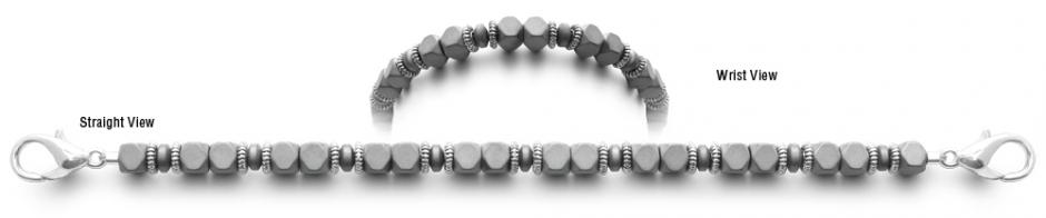 Designer Bead Medical ID Bracelets Greyhound 0822