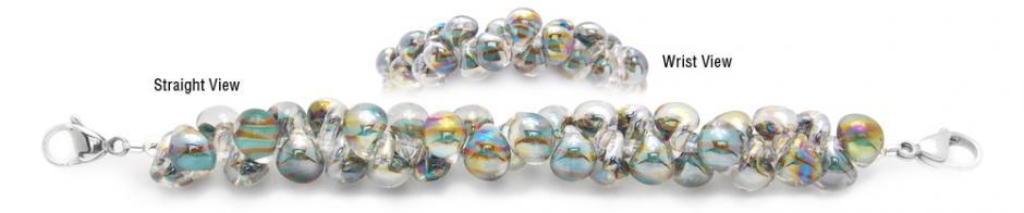 Designer Bead Medical Bracelets Tiger in the Grass 0830