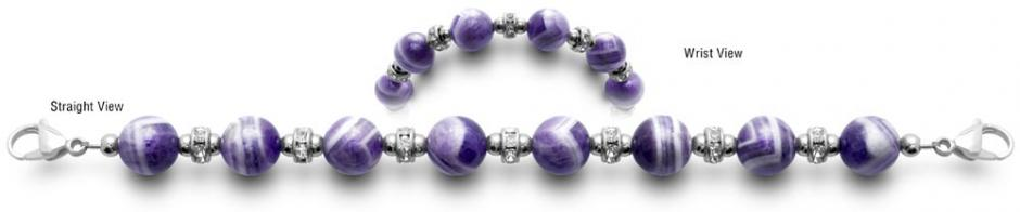 Designer Bead Medical ID Bracelets Goddess 0839
