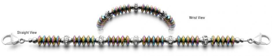 Designer Bead Medical ID Bracelets Magique 0840