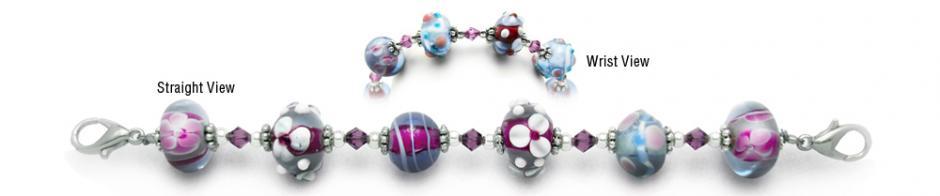Designer Bead Medical Bracelets Fascination 0868