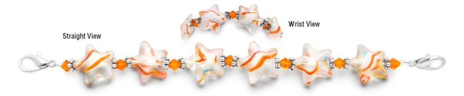Designer Bead Medical Bracelets Wish Upon a Star 0880