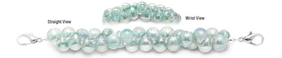 Designer Bead Medical Bracelets Arctic Ice 0882