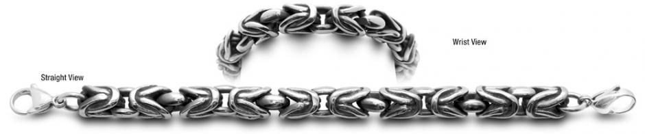 Grassetto 0920 Stainless Medical ID Bracelet