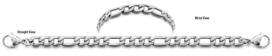 Designer Stainless Medical ID Bracelets Tolentino 0935