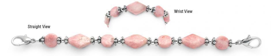 Designer Bead Medical Bracelets Light Hearted Love 1027