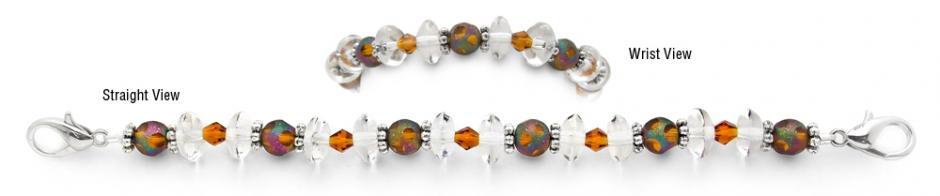 Designer Bead Medical Bracelets Celestial Flicker 1125
