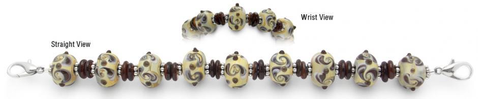 Designer Bead Medical Chocolate Parfait 1126