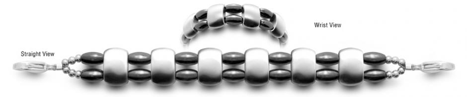Designer Bead Medical Bracelets Smooth Sailing 1154