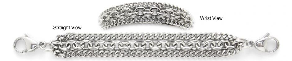 Designer Stainless Medical Bracelets Meraviglia Delicata 1250