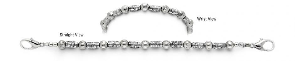 Designer Bead Medical Bracelets Light Rays 1261