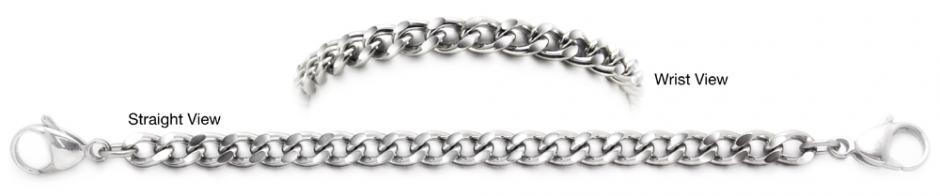 Designer Stainless Medical Bracelet Stile Ancona 1263