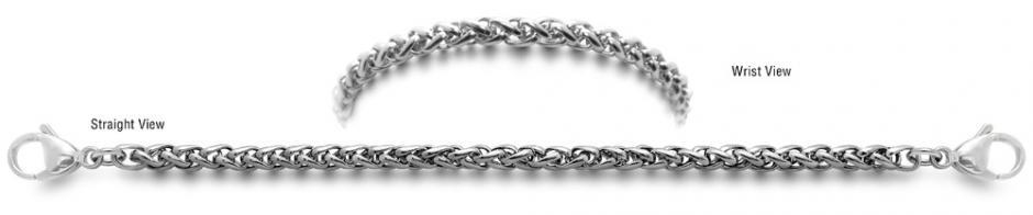Designer Stainless Medical Bracelets Cavallino 1307