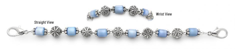 Designer Bead Medical Bracelets Deep Sea Dive 1342
