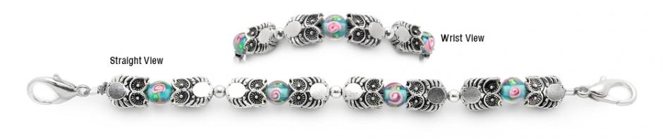 Designer Bead Medical Bracelets Whimsical Wisdom 1343
