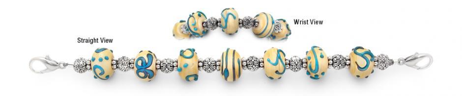 Designer Bead Medical Bracelets Beaded Oasis 1345