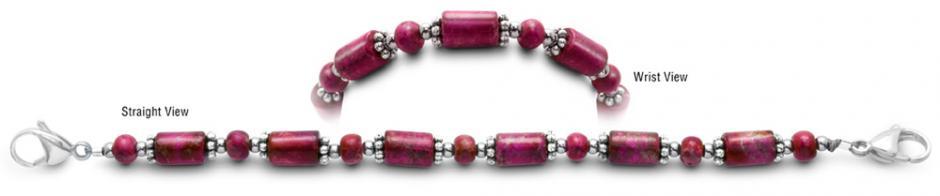 Designer Bead Medical Bracelets Hot Rods 1469