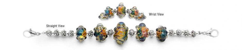 Designer Bead Medical Bracelets Marine Mysteries 1583