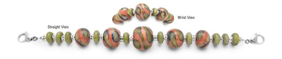 Designer Bead Medical Bracelets Frog Prince 1589