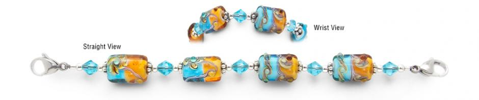 Designer Bead ID Medical Bracelets - 12-Apostles 1600