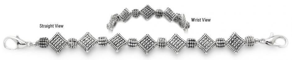 Designer Bead Medical Bracelets Metallic Madness 1641