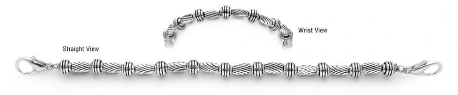 Designer Bead Medical Bracelets Twist and Shout 1642