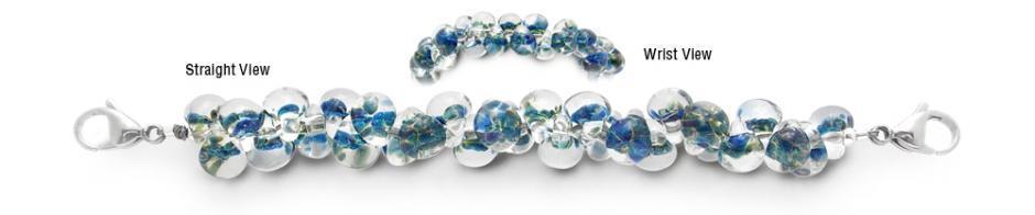Designer Bead Medical Bracelets Speckled Hatchling 1689