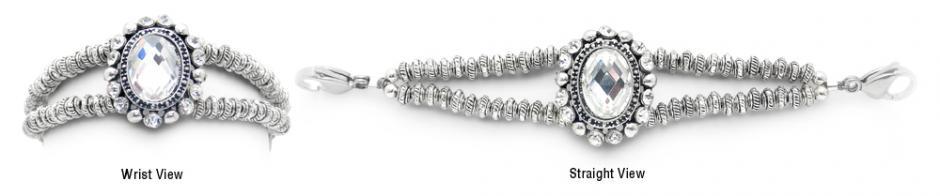 Designer Bead Medical Bracelets Victorian Ice Crystals 1795