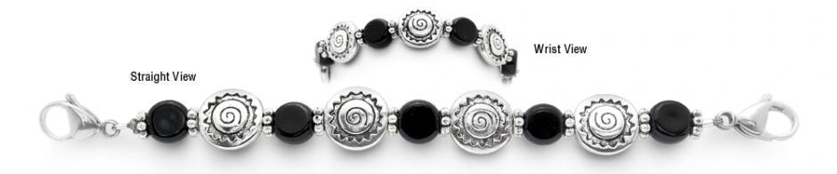 Designer Bead Medical ID Bracelets Navajo Night 1797