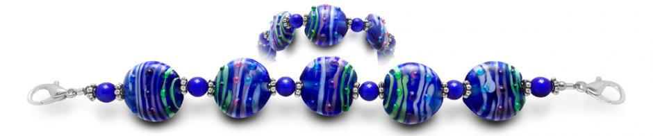 Designer Bead Medical Bracelets Positano 1860