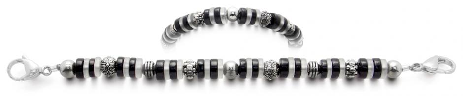Designer Bead Medical Bracelets Night and Day Dreams 1880