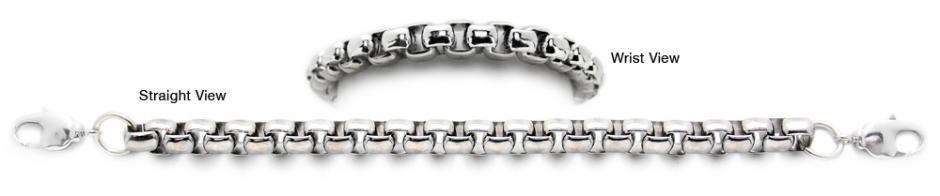 Designer Silver Medical Bracelets Bravisimo 1884