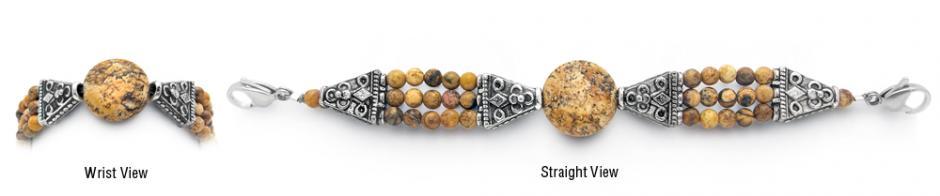 Designer Bead Medical Bracelets Outstretched Roots 1887