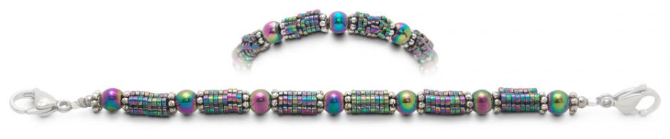 Designer Bead Medical Bracelets The Painted Serpent 1901