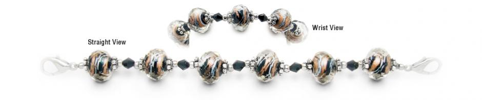 Designer Bead Medical Bracelets Sizzle I 1930