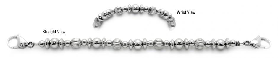 Designer Bead Medical Bracelets Woman of Steel 1932