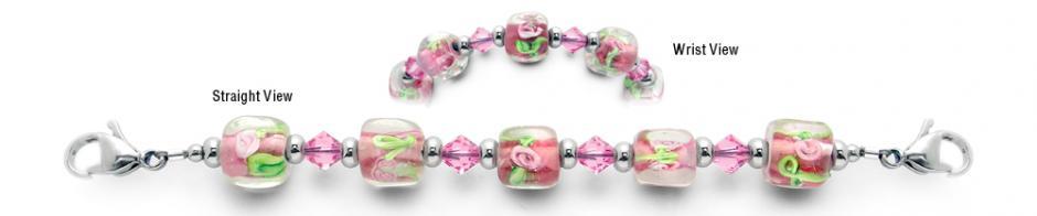 Designer Bead Medical Bracelets Spring Sounds 1934