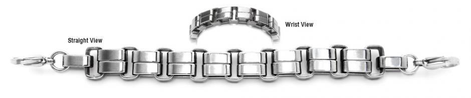 Designer Stainless Medical Bracelets Un Unico Pennello 1950