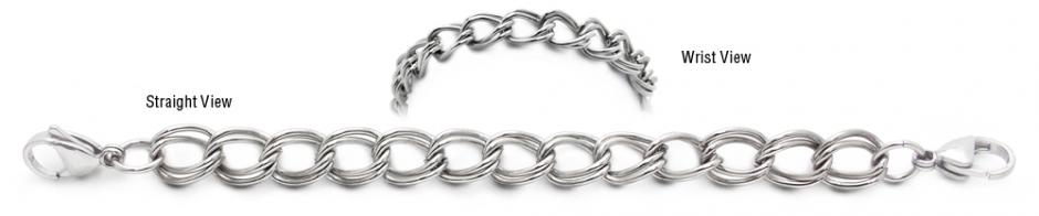 Designer Stainless Medical Bracelets Belleza 1952