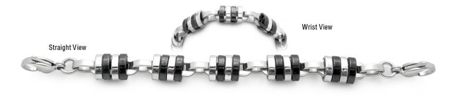 Designer Stainless Medical Bracelets Donna di Firenze 1994