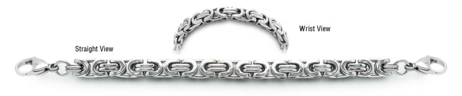 Designer Stainless Medical ID Bracelets Corsa a Milano 1966