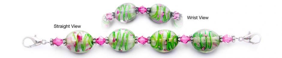 Designer Bead Medical Bracelets Springtime Bunny Hop 2020