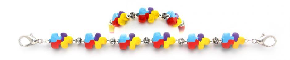 Designer Bead Medical Bracelets Dream Puzzler 2027