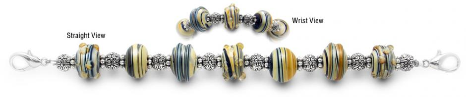 Designer Bead Medical Bracelets Rhapsody in Naples 2035