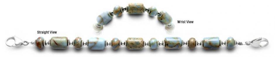 Designer Beads Medical Bracelet Safari Gems 2036