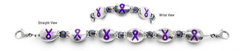 Designer Bead Medical Bracelets Memory Knot 2048
