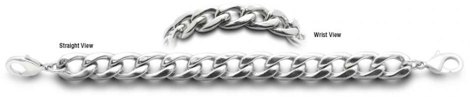 Designer Stainless Medical Bracelet Catena Dura 2207